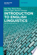 Introduction to English Linguistics PDF
