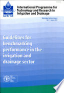 Guidelines for Benchmarking Performance in the Irrigation and Drainage Sector