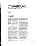 Rand McNally Campground and Trailer Park Guide