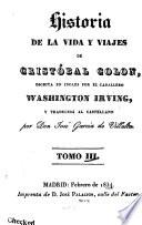 historia de la vida y viajes de crist bal colon