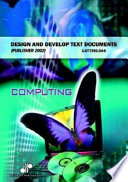 Design And Develop Text Documents Publisher 2002