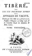 Tib  re ou les six premiers livres des annales de Tacite
