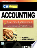 Accounting  For Ca Ipcc Exam