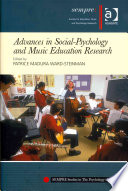 Advances in Social psychology and Music Education Research