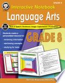 Interactive Notebook Language Arts Workbook Grade 8