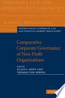 Comparative Corporate Governance of Non Profit Organizations