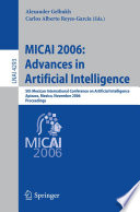 Micai 2006 Advances In Artificial Intelligence