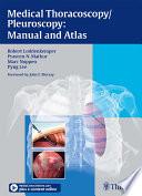 Medical Thoracoscopy Pleuroscopy Manual And Atlas