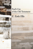 download ebook paul\'s use of the old testament pdf epub