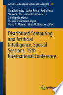 Distributed Computing And Artificial Intelligence Special Sessions 15th International Conference