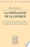 illustration du livre La généalogie de la logique