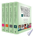 Encyclopedia Of Women In Today S World book
