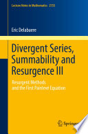 Divergent Series Summability And Resurgence Iii