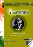The International Journal of Indian Psychology, Volume 3, Issue 4, No. 60 Pdf/ePub eBook