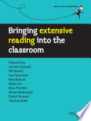 Bringing Extensive Reading Into The Classroom Into The Classroom