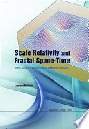 Scale Relativity and Fractal Space time