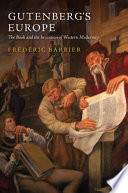 Gutenberg s Europe