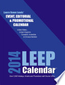 2014 LEEP Event  Editorial   Promotional Calendar