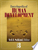 Encyclopedia of Human Development