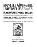 Nouvelle Géographie Universelle (2 volumes)