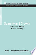 Scarcity And Growth
