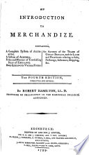 An introduction to merchandize     The fourth edition  corrected and revised