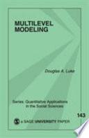Multilevel Modeling