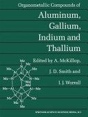 Organometallic compounds of aluminum  gallium  indium  and thallium