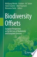 Biodiversity Offsets