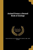 ANIMAL FORMS A 2ND BK OF ZOOLO