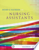 Mosby s Textbook for Nursing Assistants