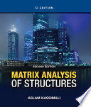 Matrix Analysis of Structures SI Version