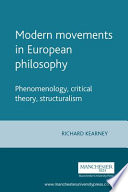 Modern Movements in European Philosophy