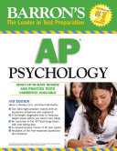 Barron s AP Psychology Offers Tips On Test Taking Strategies And Includes