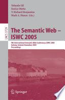 The Semantic Web     ISWC 2005