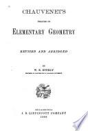 Chauvenet s Treatise on Elementary Geometry