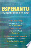 Esperanto the New Latin for the Church and for Ecumenism