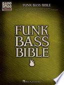 Funk Bass Bible  Songbook