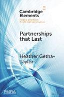 Partnerships that Last