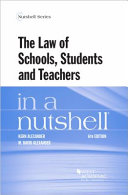 The Law of Schools  Students and Teachers in a Nutshell