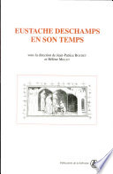 Eustache Deschamps En Son Temps book