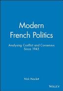 Modern French Politics