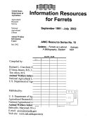 Information resources for ferrets