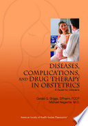 Diseases  Complications  and Drug Therapy in Obstetrics