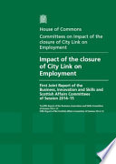 HC 928 - Impact of the Closure of City Link on Employment