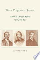 Black Prophets of Justice