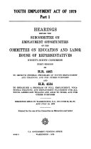 Youth Employment Act of 1979