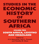 download ebook studies in the economic history of southern africa pdf epub