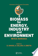 Biomass For Energy Industry And Environment