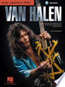 Book Van Halen   Signature Licks